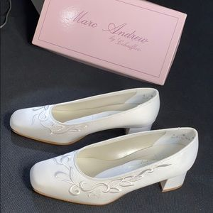 White, Special occasion shoes